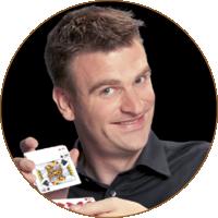 Zauberer Denis Behr